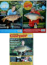 3 x Crafty Carper Magazines - Aug, Sept & Nov 2001