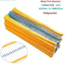 Qt102050 Or 100 X 1k Ohm Resistors 14 Watt Usa Shipping