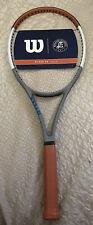 New Limited Edition Wilson Blade 98 Roland Garros Tennis Racquet Grip Sz 4 1/2