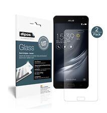 2x Asus ZenFone Ares ZS572KL Screen Protector matte Flexible Glass 9H dipos