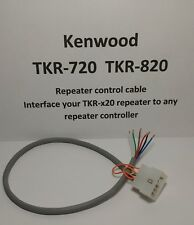 """KENWOOD TKR720 TKR820 Repeater Controller Cable for YOUR GMRS or HAM system 14"""""""