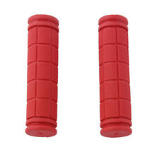 Skid Proof Rubber 25mm Handlebar Grip Cover for Bike Bicycle Red