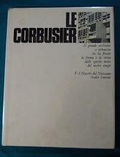 Le Corbusier Carlo Cresti I Maestri del Novecento Sadea Sansoni 1969