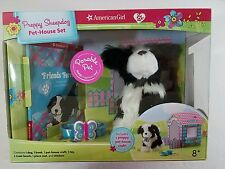American Girl Preppy Sheepdog Pet-House Set perrito