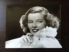 "Katherine Hepburn Original Glossy Publicity Still 11 X 14"" Silver Gelatin Print"