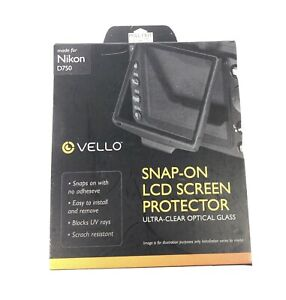 Vello SPSO-ND750 LCD Screen Protector Snap-on for Nikon D750