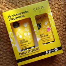 Sante Geschenkset Pflegeset ENERGY Duschgel Bodylotion Naturkosmetik Quitte Lime