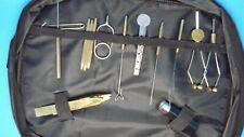 11pcs Fly tying tool kits, fly tying materials, flies, craft, TOOLS