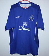 Everton England home shirt 05/06 Umbro