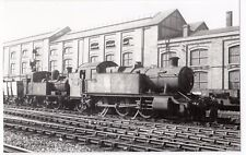 GWR Collett 2-6-2T Loco no 3100 at Unknown Location, PC size BW Photo