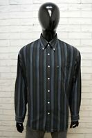 Camicia Uomo Marlboro Classics Taglia 3XL Maglia Polo Shirt Men Cotone Righe
