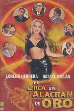 DVD - La Chica Del Alacran De Oro NEW Lorena Herrera FAST SHIPPING !