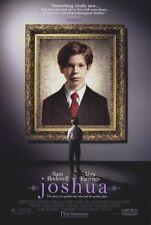 JOSHUA Movie POSTER 27x40 Sam Rockwell Vera Farmiga Michael McKean Jacob Kogan