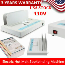Hot Melt Machine Thermal Binding Machine Contract Document Invoice Folder For A4
