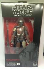 STAR WARS The Black Series The Mandalorian 6-inch Scale Action Figure DAMAGED