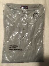 NWT Forest & Hue Short Sleeve Polo - Size XL - Gray - NEW!