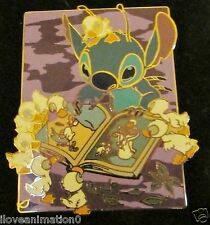 Disney Stitch Sundays Reading the Ugly Duckling Pin **