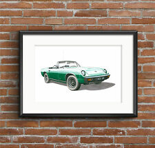 Jensen-Healey Mk1 sports car POSTER PRINT A1 size