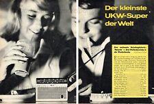 Philips Nanette transistor bolsillos receptor-original informe de 1962
