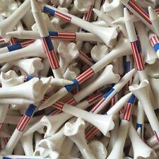 "Pride Evolution USA American Flag 3 1/4"" 3.25 Golf Tees White - You Choose the #"