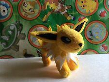 Pokemon Plush Jolteon Bandai 2001 Mini Stuffed Animal Friends Doll figure Toy Go