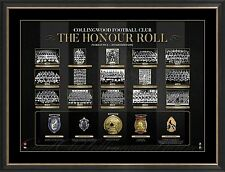 COLLINGWOOD AFL Honour Roll with Medals Print Framed PREMIERS Swan Pendlebury