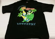 Jimmy Buffet 1993 Chameleon Caravan Black Tour t-shirt Xl