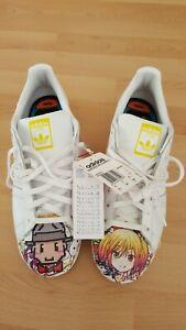 Herren Weiß Adidas Superstar Pharrell S83354 Größe US 12 1/2 FR 47 1/3
