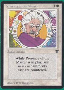 Presence of the Master English Legends  MTG Magic Card