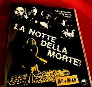 LA NOTTE DELLA MORTE 1980💀BLU RAY+DVD FILM INEDITO E INTEGRALE!📮raccomandata