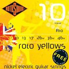 ROTOSOUND R10 YELLOWS LIGHT ELECTRIC GUITAR STRINGS 10-46  for sale