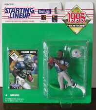 1995 Emmitt Smith Dallas Cowboys Starting Lineup mint in pkg with football card