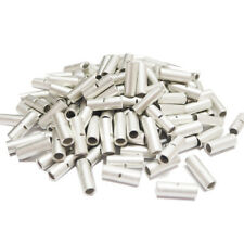 15pcs Premium #8 AWG BN8 Uninsulated Wire Terminal Splices Butt Connectors Bare