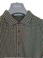 Mens chic PRADA short sleeve shirt size large/medium. RRP £425.