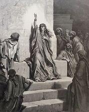 Israël Débora chantant son cantique Gustave Doré 1874