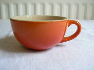 Le Creuset Stoneware Coffee Tea Cup 220ml Volcanic Orange