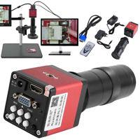 14MP 130X HD 1080P HDMI VGA Digital Industry 60F/S Video Microscope Camera Zoom