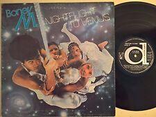 DISCO LP - BONEY M - NIGHTFLIGHT TO VENUS - 1978 DURIUM 30-292 - VG-/VG-