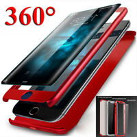 For iPhone 11 Pro XS Max XR X 6s 7 8 Plus 360° Full Protective Armor Case Cover