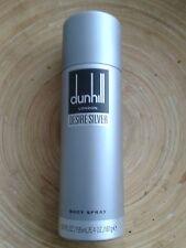DUNHILL LONDON DESIRE SILVER 6.4 OZ BODY SPRAY FOR MEN BRAND NEW WITH CAP