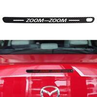 Mazda 6 Tail/Brake Light Black Carbon Fibre ZOOM ZOOM Sticker Decal Vinyl