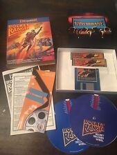 Rocket Ranger Cinemaware PC Big Box Complete Floppies