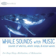 WHALE SOUNDS with MUSIC CD: Sounds of Whales, Whale songs, & Ocean Waves NEW CD!