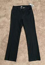 Old Navy Boot Cut Denim Pants Trousers Womens Sz 6 Petite Stretch Dark Rinse NWT