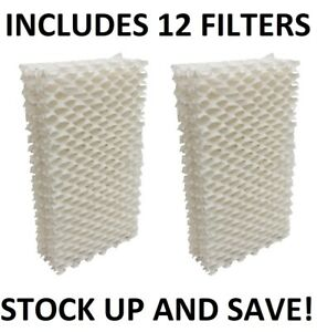 Humidifier Filter Wick for Emerson HDC411 - 12 Pack