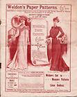 Antique Weldon's Paper Sewing Patterns Catalogue -  14 page catalog - U.K.