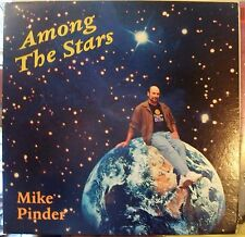 LP MIKE PINDER * Among Stars * AUTOGRAPHED * NUMBERED * BLUE VINYL* MOODY BLUES