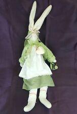 "RAZ Imports 23"" Plush-Bunny w/Water Pot Carol King-Paula Buttel Adjustbl 8"" Ears"