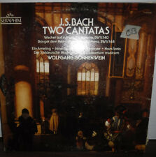 J.S. Bach Two Cantatas Wolfgang Gonnenwein Vinyl S-60328 010218LLE