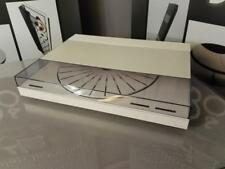 B&O BANG AND OLUFSEN BEOGRAM 7000 TURNTABLE IN WHITE REF 17121901